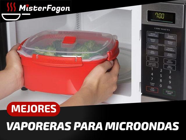 Mejores vaporeras para microondas