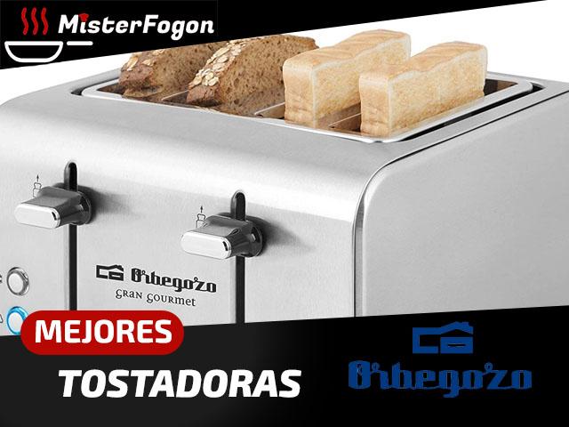 Mejores tostadoras Orbegozo