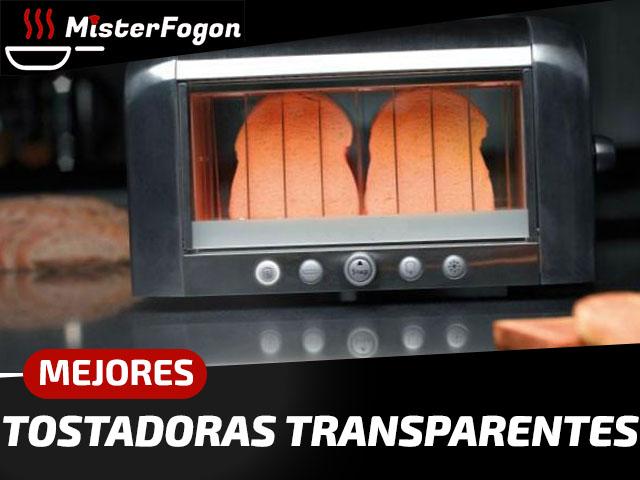 Mejores tostadoras transparentes