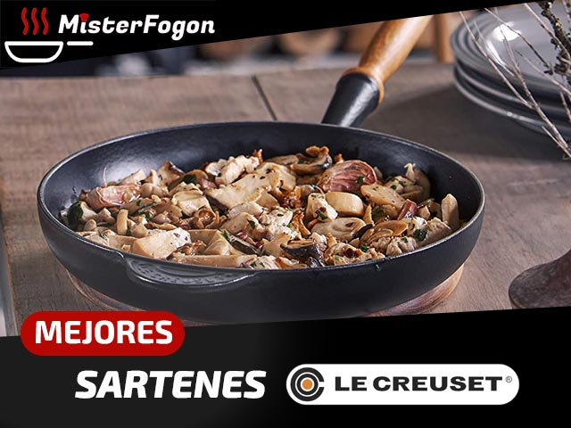 Mejores sartenes Le Creuset