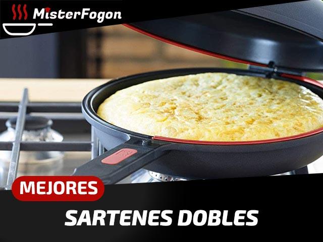 Mejores sartenes dobles para tortillas