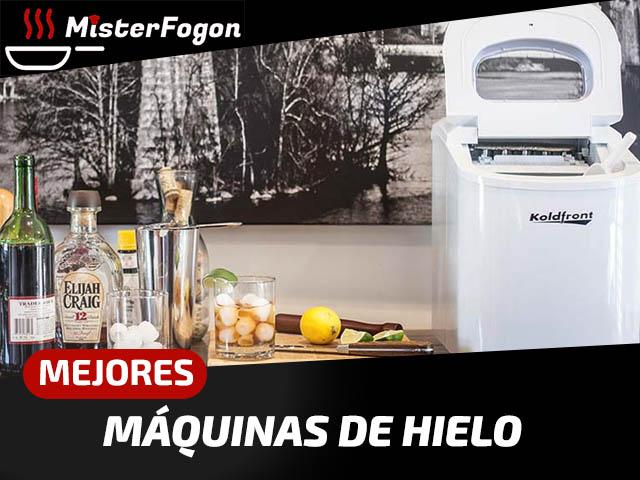 Mejores máquinas de hacer hielo